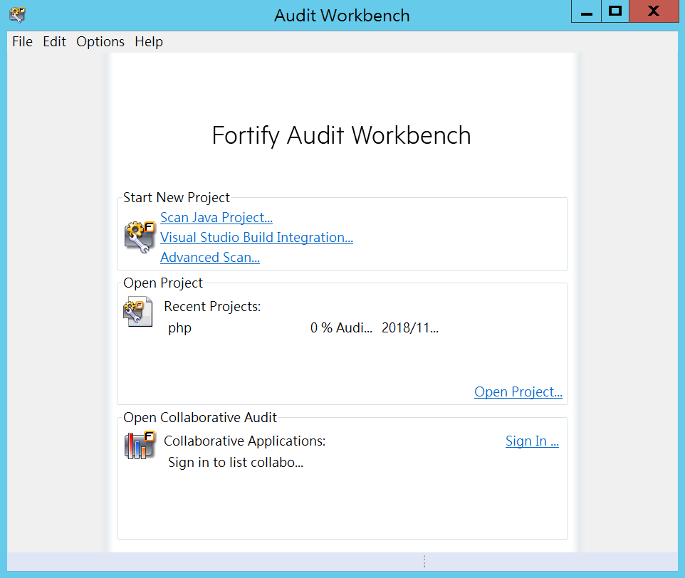 Audit Workbench