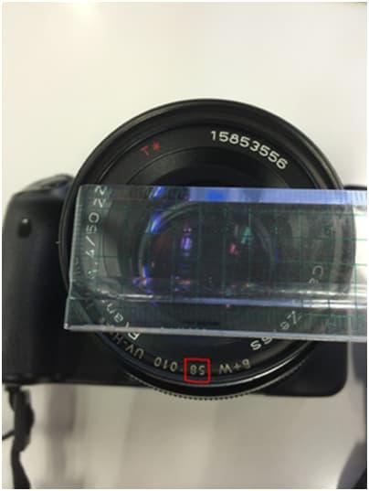 鏡頭的直徑