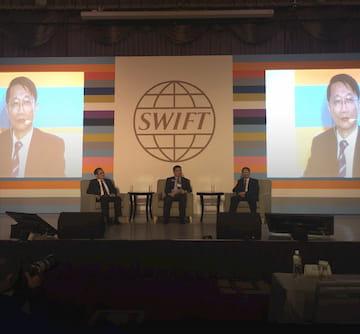 SWIFT 專業供應商資通電腦受邀分享台灣金融科技發展趨勢